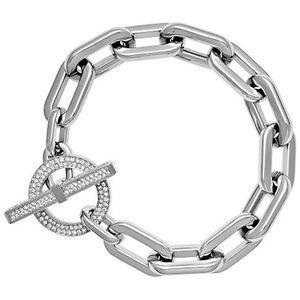 Michael Kors Silver Crystals Chain Bracelet